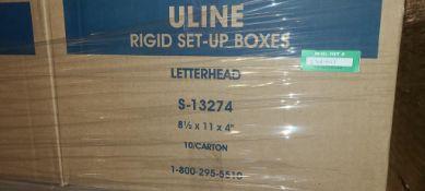 Uline Set-Up Boxes