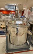 Stainless Steel Gelatin Melting Tank