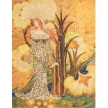 ATTRIBUTED TO NICOLAS KALMAKOFF (1873-1955) Fierce bird - signed and dated '1922' [...]