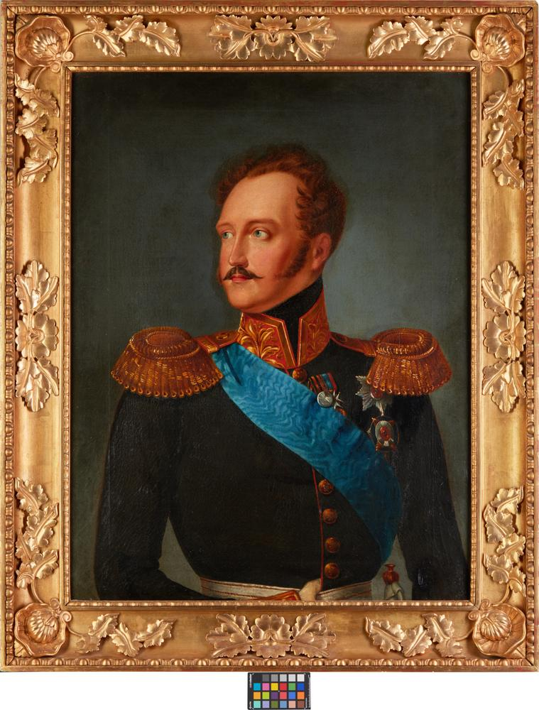 AFTER FRANZ KRÜGER, first half of XIX century Portrait of Nicholas I in general's [...] - Image 2 of 2