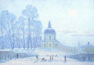 ALEXANDER SOROKA (B. 1942) Oranienbaum in winter [...]