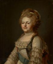 ATTRIBUTED TO JOHANN BAPTIST VON LAMPI (1751-1830) Portrait of the Empress Maria [...]