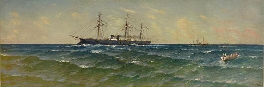 KRYZHITSKY KONSTANTIN YAKOVLEVICH (1858-1911) The battleship of the Imperial Russian [...]