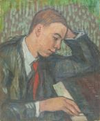 MIGUEL TUSQUELLAS CORBELLA (1884-1969) - Pianist Signed 'A Eversen' (lower [...]