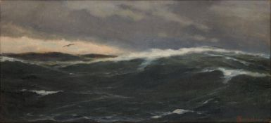 HERPEL FRANZ KARL (1850- 1933) - Seascape Signed and dated 'FHerpel 1910' (lower [...]