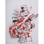 FERNANDEZ ARMAN (1928-2005) lithograph in colourssigned in pencil 'Arman' (lower right) and