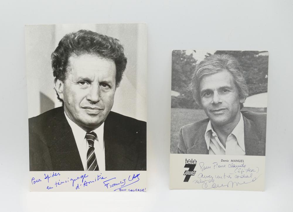 COLLECTION OF PHOTOGRAPHS AND POSTCARDS WITH AUTOGRAPHS BY NUMEROUS ARTISTS- 18 TV stars like - Image 3 of 17