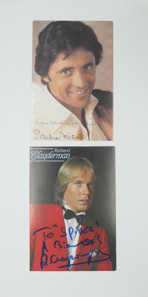 COLLECTION OF PHOTOGRAPHS AND POSTCARDS WITH AUTOGRAPHS BY NUMEROUS ARTISTS- 18 TV stars like - Image 8 of 17