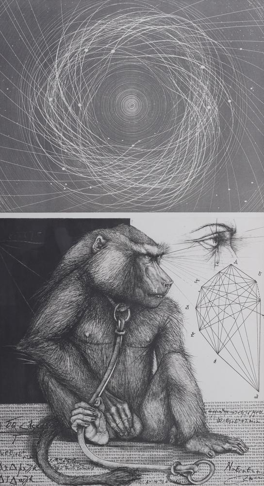 PIERRE-YVES TRÉMOIS (1921-2020) The monkey's eyesigned and dated 'Tremois 1975' lithograph on
