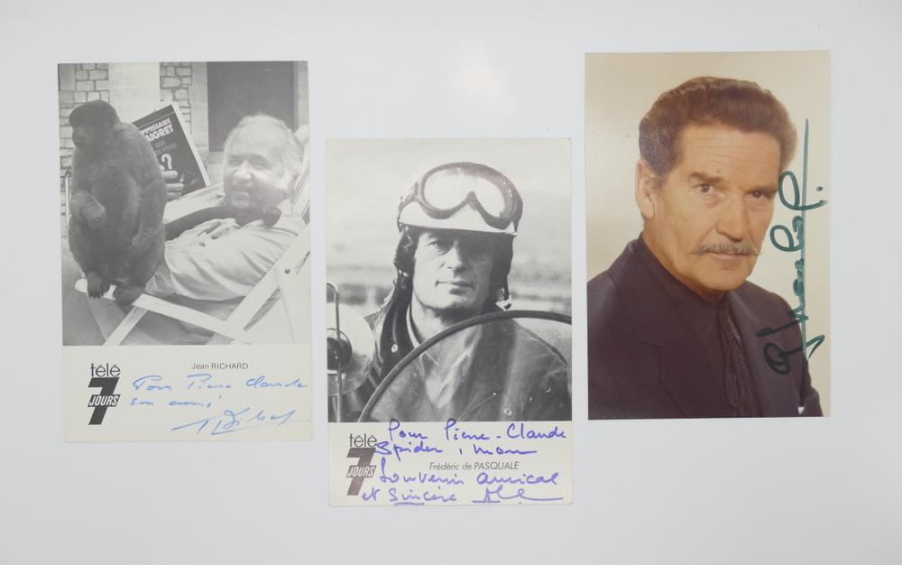 COLLECTION OF PHOTOGRAPHS AND POSTCARDS WITH AUTOGRAPHS BY NUMEROUS ARTISTS- 18 TV stars like - Image 2 of 17