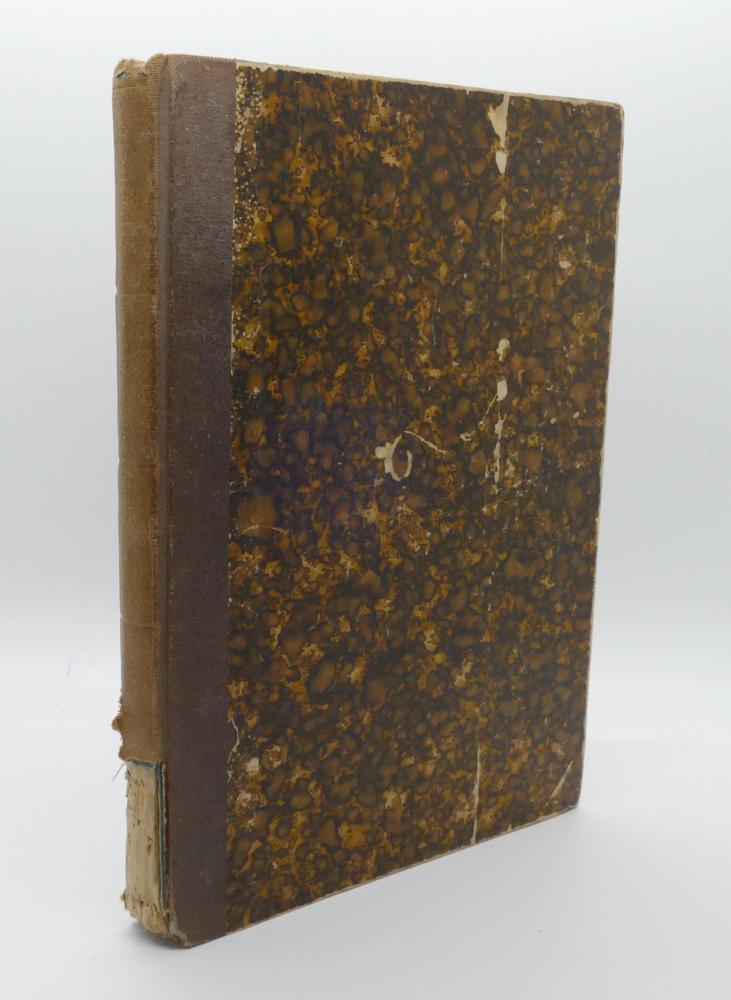 FRANZ STRÄSSLE (1817-1906)Schmetterlingsbuch: Anleitung zum fangen und aufbewahren der Schmetterling