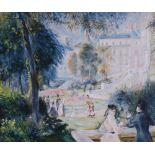 GALEAZZO TONINI VON MÖRL (1922-2011) Summer dayoil on canvas 65.3 x 54 cm Provenance: Artist's