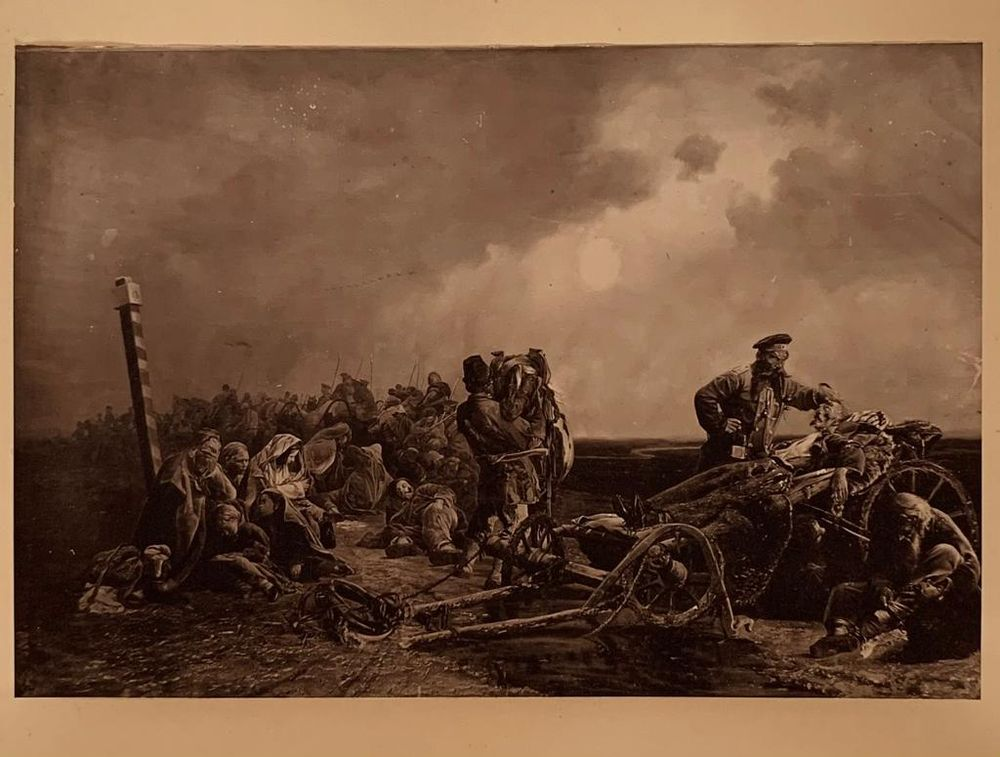 LAZOVSKY G., PHOTOGRAPHER, AUTOGRAPH JACOBI V. (1834-1902), ARTIST, AUTOGRAPH 6 photographs of - Image 3 of 6
