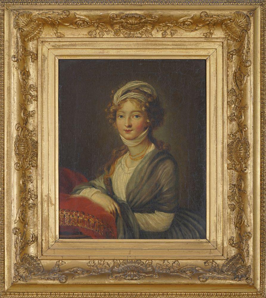 After Marie LOUISE Elisabeth Vigée Le Brun (1755–1842) Portrait of Grand Duchess Elisabeth - Image 2 of 3