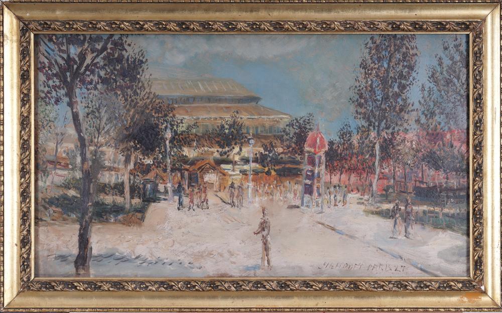 Alexei Arapov (Alexis Arapoff ) (1906-1943) Paris signed, inscribed and dated 'Arapoff Paris - Image 2 of 3
