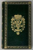SUPEREx libris OF EMPEROR ALEXANDER I (1801-1825) Madame de Bavre. Auguste and Friedrich: in 2 vols.
