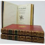 FROM LIBRARY OF COUNT N. I. PANIN (1718-1783) [Charles François Le Brun ]. Homère. L'Iliade,
