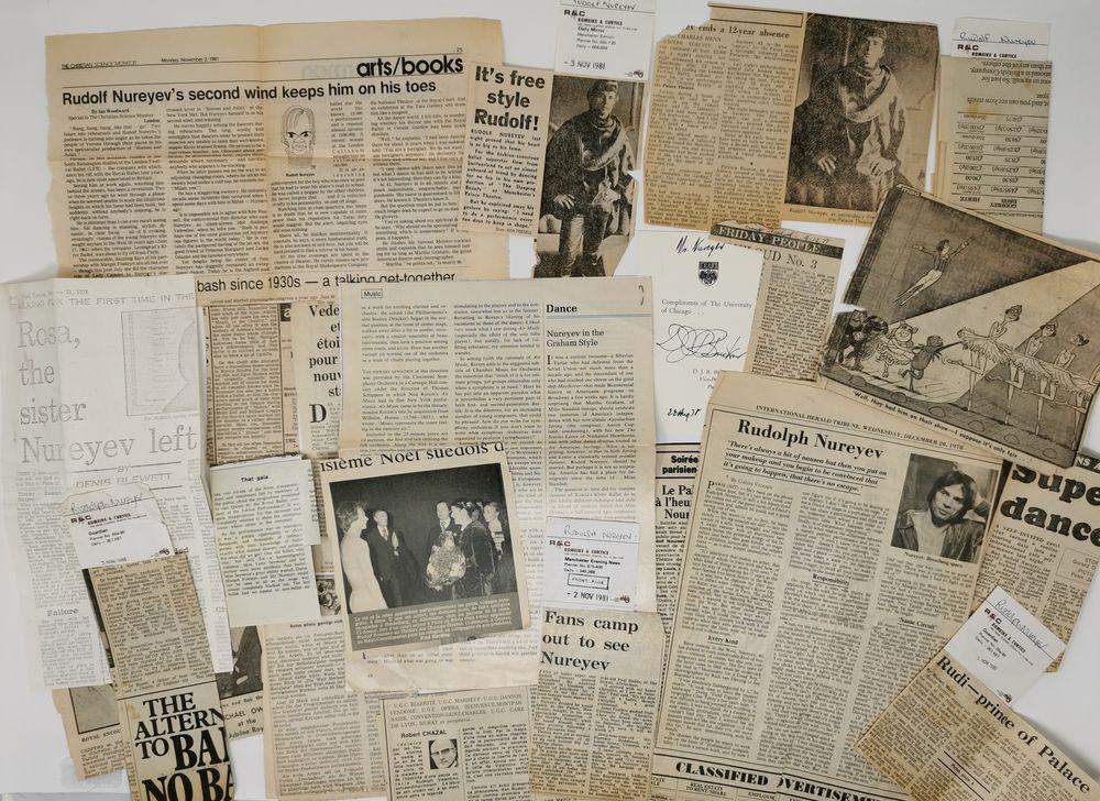 Rudolf Nureyev (1938-1993) collection 1) Two posters of Rudolf Nureyev's ballet «Don Juan». Black - Image 9 of 9