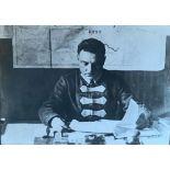 PYOTR OTSUP (1883-1963) Portrait of K. E. Voroshilov Inscription in Russian, photographer's