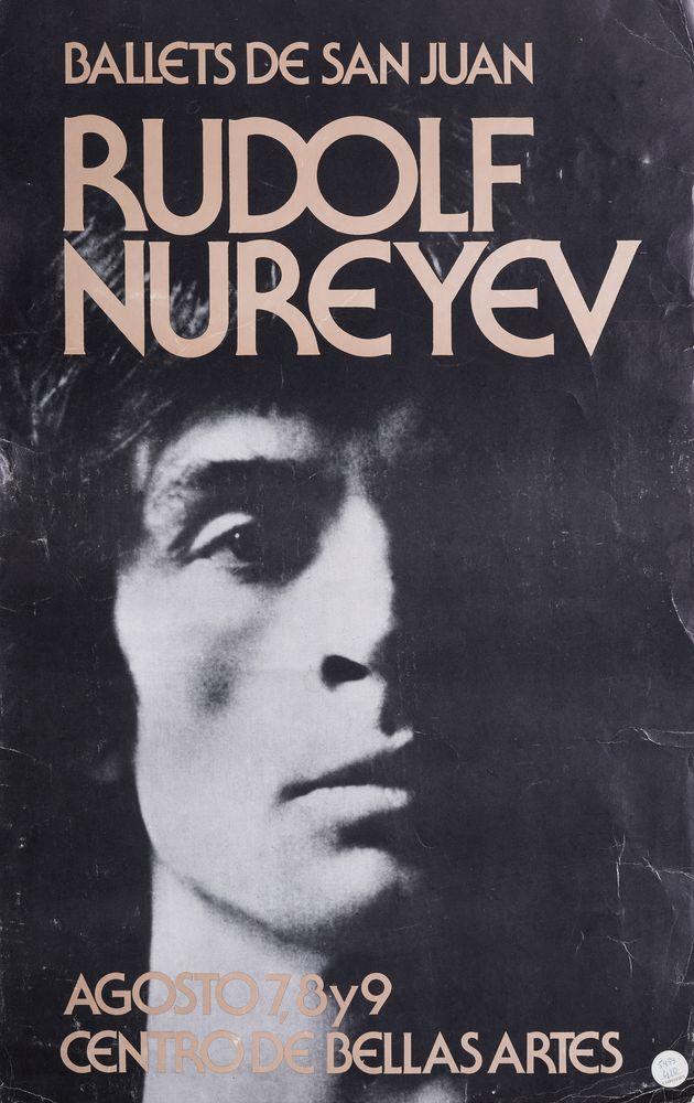 Rudolf Nureyev (1938-1993) collection 1) Two posters of Rudolf Nureyev's ballet «Don Juan». Black - Image 6 of 9