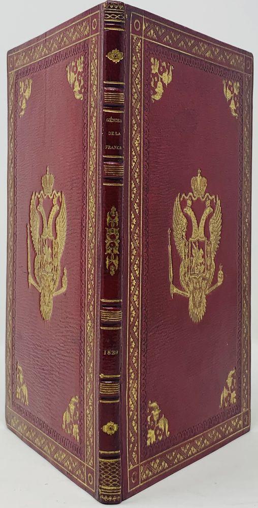 SUPEREx libris OF EMPEROR NIKOLAI I (1825-1855) Milly A., de. Les Génies de la France, ou le - Image 2 of 4