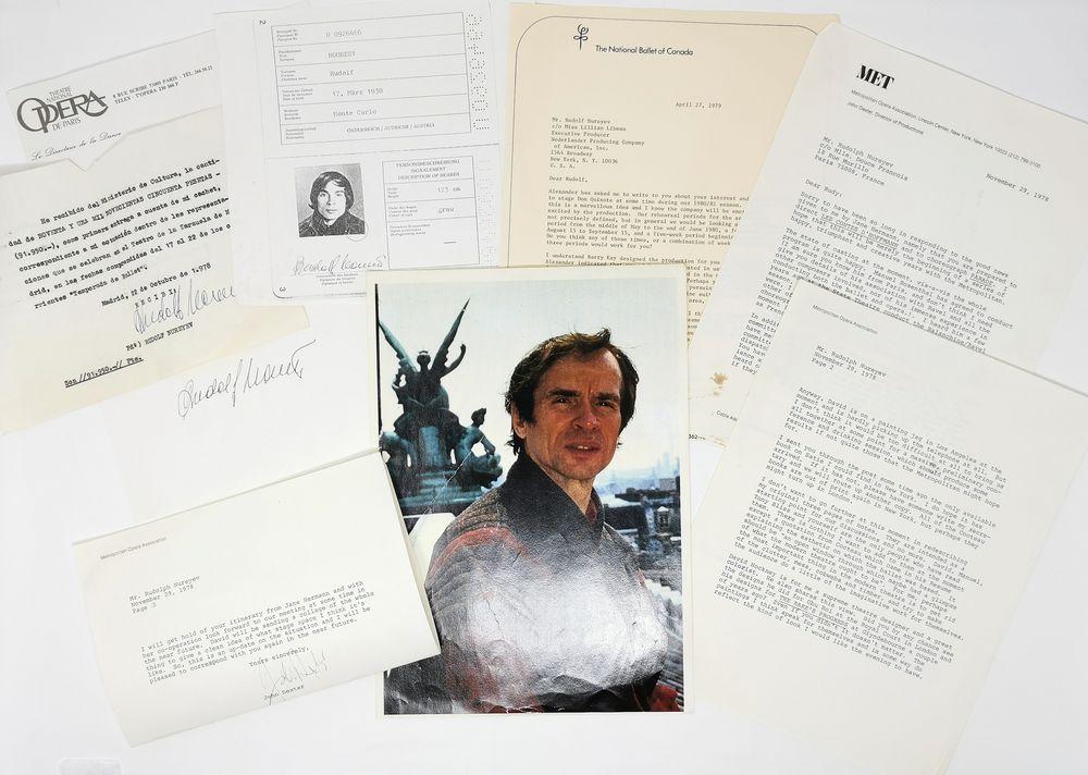 Rudolf Nureyev (1938-1993) collection 1) Two posters of Rudolf Nureyev's ballet «Don Juan». Black - Image 8 of 9