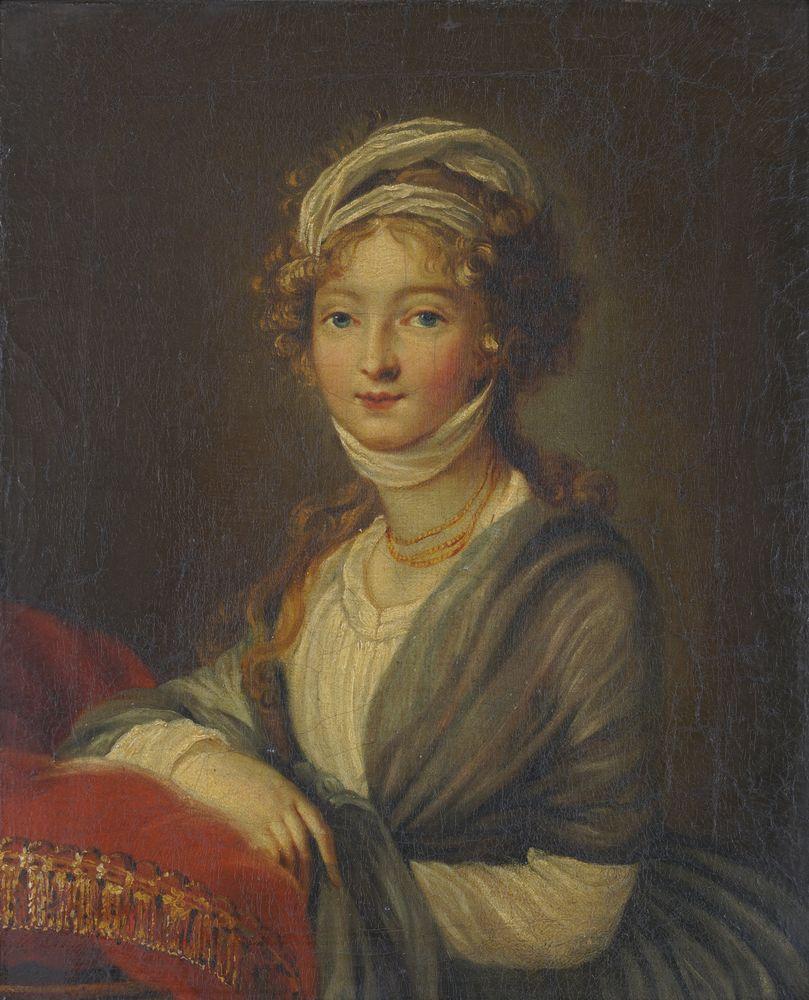 After Marie LOUISE Elisabeth Vigée Le Brun (1755–1842) Portrait of Grand Duchess Elisabeth