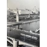 EMMANUEL EVZERIKHIN (1911-1984) Kremlin panorama. Set «Moscow» 1930s. Stamps «Photographer E.N.