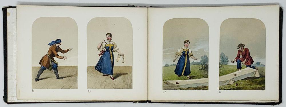 RUSSIAN COSTUMES Costumes Russes. Paris: Imp. Lemercier, [première moitié du XIXe siècle]. The album