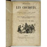 RUSSIAN COSSACKS, two editions 1) Messieurs les cosaques, relation charivarique, comique et