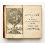 DILTHEY Philippe Henry (1723-1781) Essay géographique sur la Russie avec le blason et la