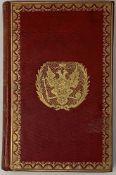 SUPEREx libris OF EMPEROR ALEXANDER I (1801-1825), PAVLOVSK PALACE LIBRARY Delille E. Journal de