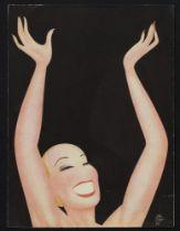 PAOLO GARRETTO (1903 - 1989) [FRAME AFTER PROTOTYPE BY GIACOMO BALLA] [LUCE AND ELICA BALLA] Wanda