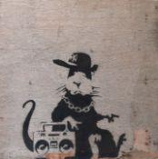 BANKSY (British Street Artist, b. 1974)