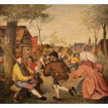 PIETER BRUEGEL THE ELDER (FOLLOWER OF THE 17TH CENTURY) ('CALLED: DE DROL (THE DROLL) OR