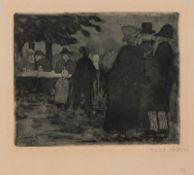 NACH DEM PFERDEMARKT (1906)