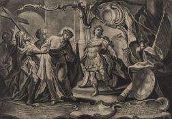 JOHANN PHILIPP KOCH ca. 1716 - 1796 wohl Augsburg (13 Stck.)