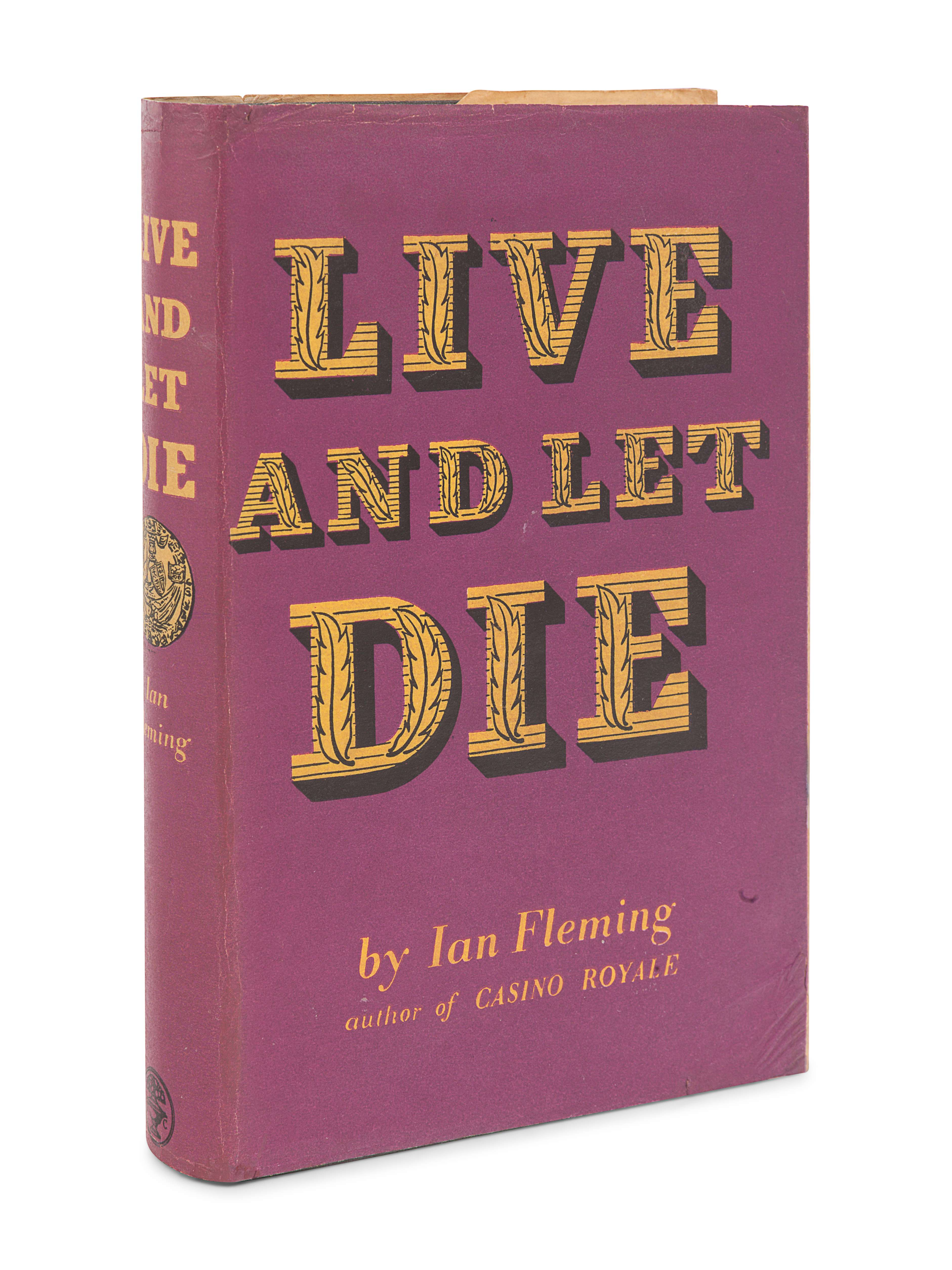 FLEMING, Ian (1908-1964). Live and Let Die. London: Jonathan Cape, 1954. - Image 2 of 3