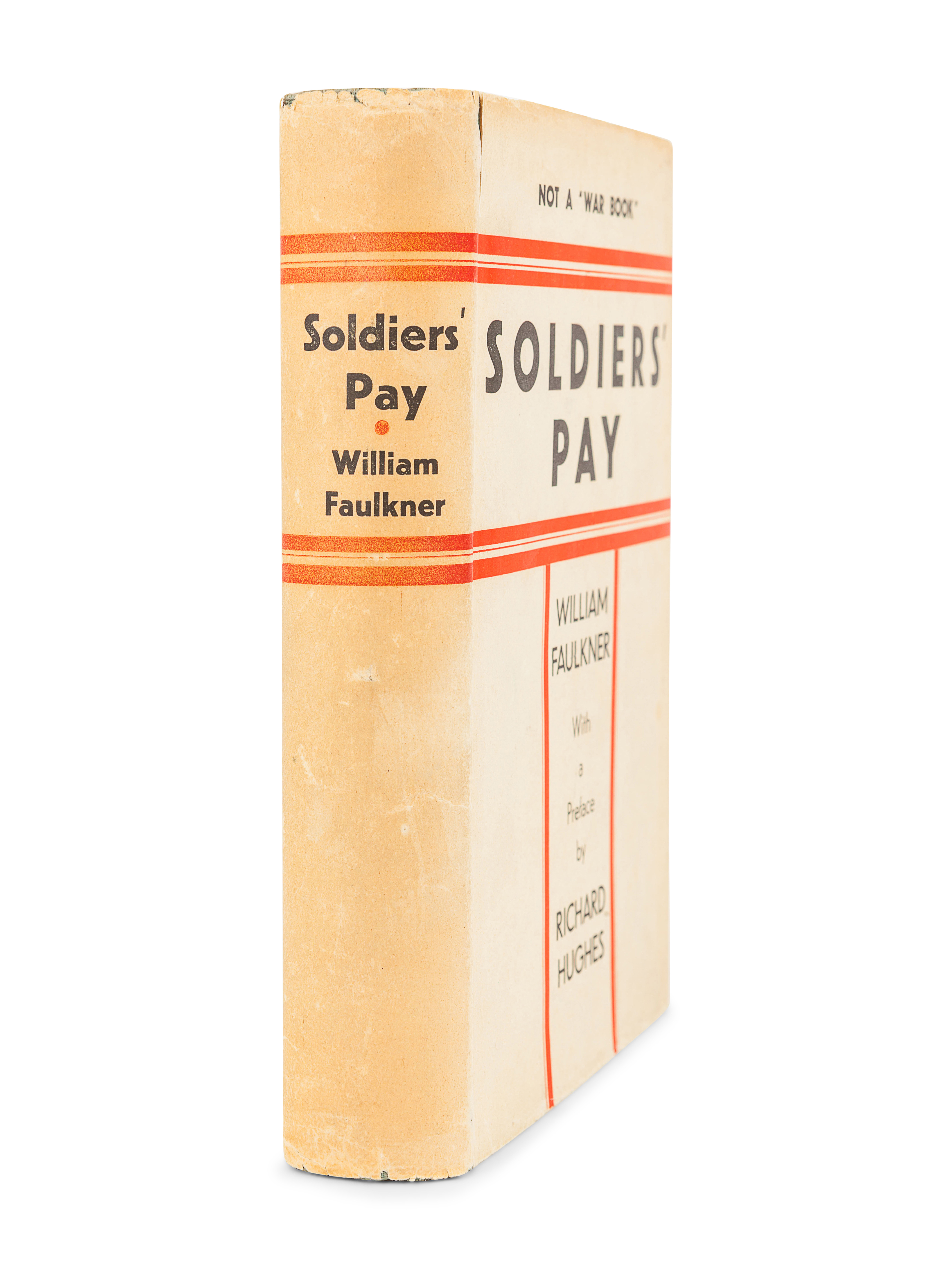 FAULKNER, William (1897-1962). Soldiers' Pay. New York: Boni & Liveright, 1926. - Image 2 of 3
