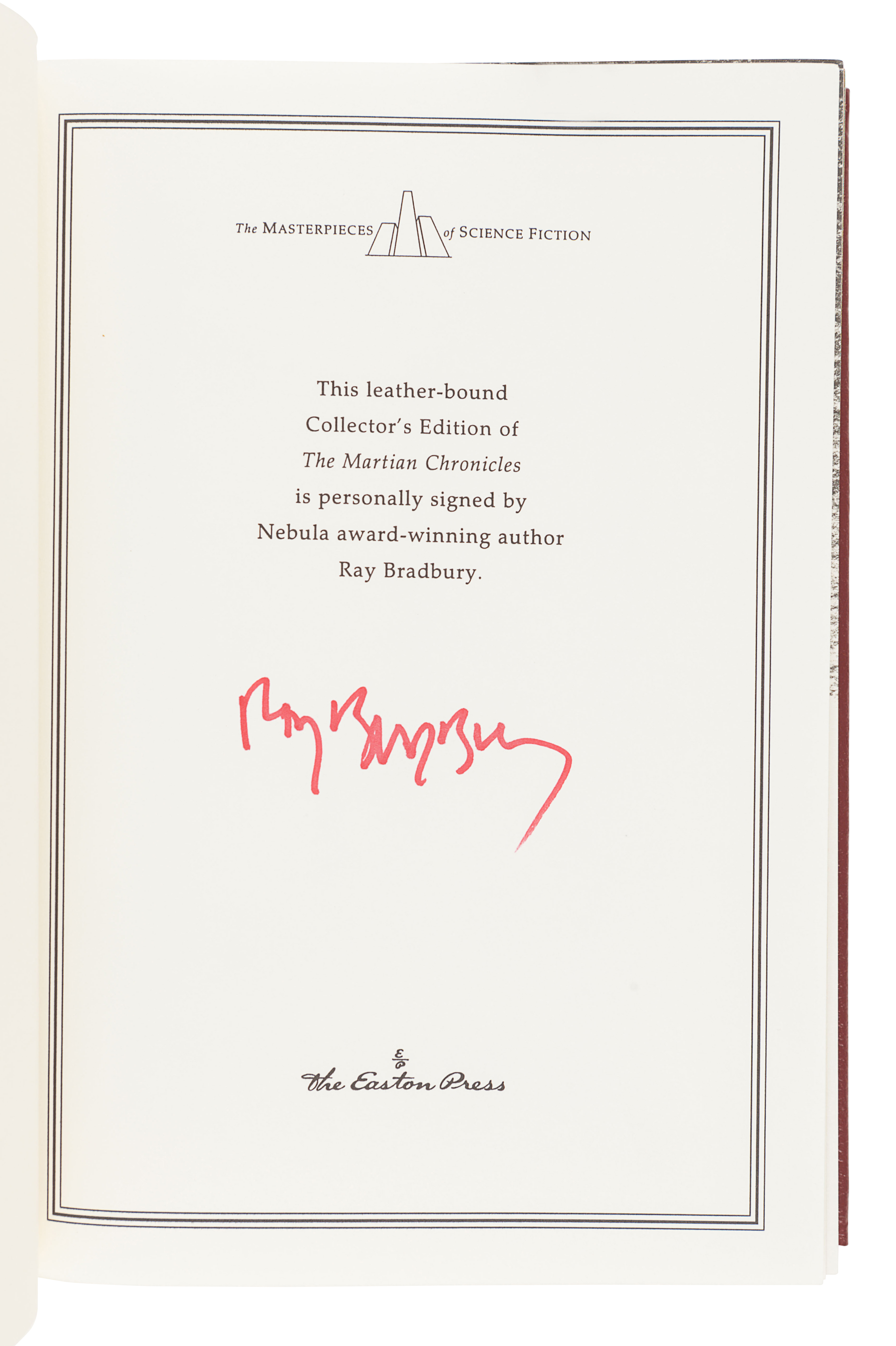 [BRADBURY, Ray (1920-2012)]. A group of 5 works SIGNED OR INSCRIBED by Bradbury, comprising: - Image 6 of 11