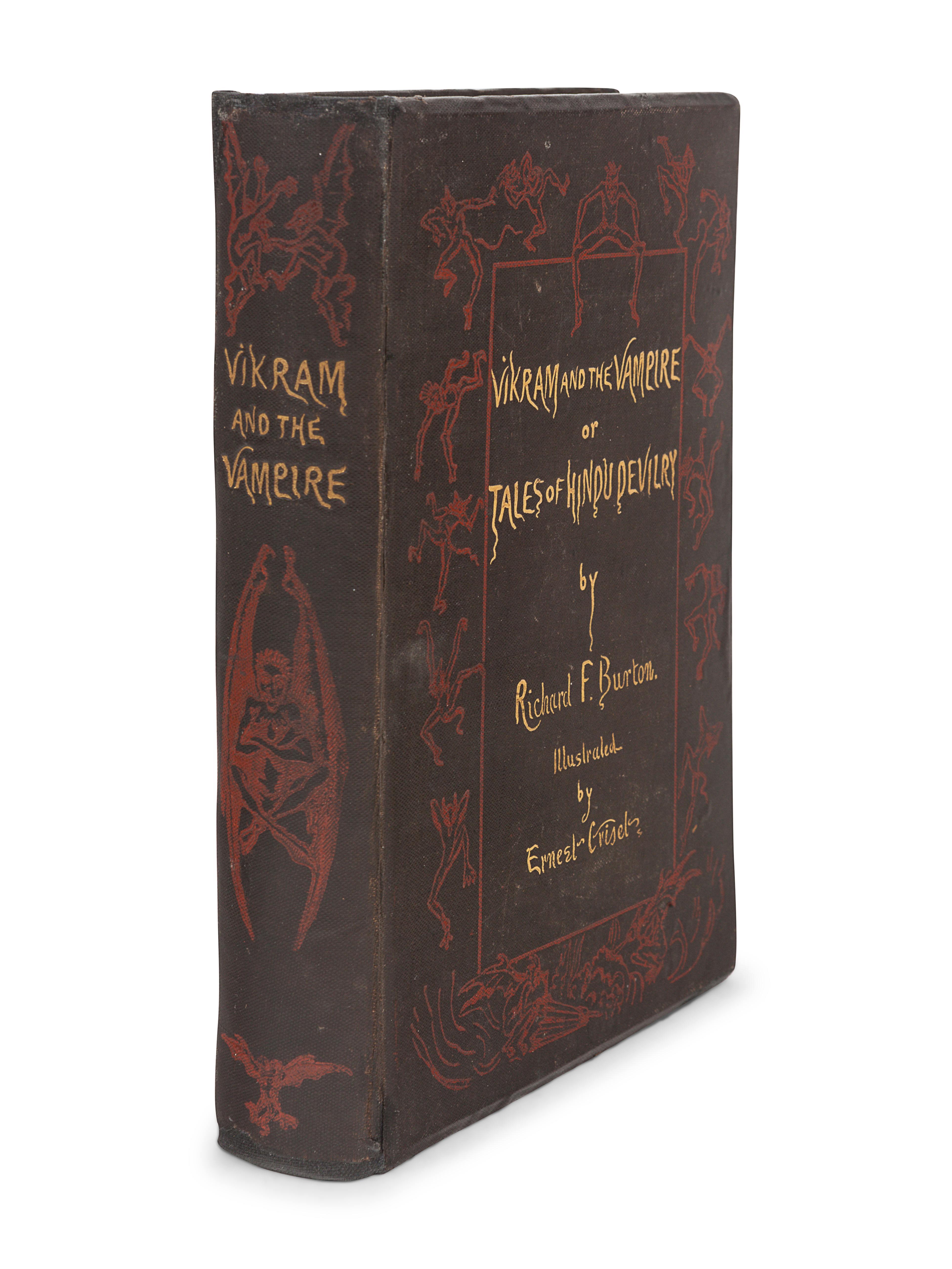 BURTON, Richard Francis, Sir (1821-1890). Vikram and the Vampire or Tales of Hindu Devilry. London: - Image 2 of 3