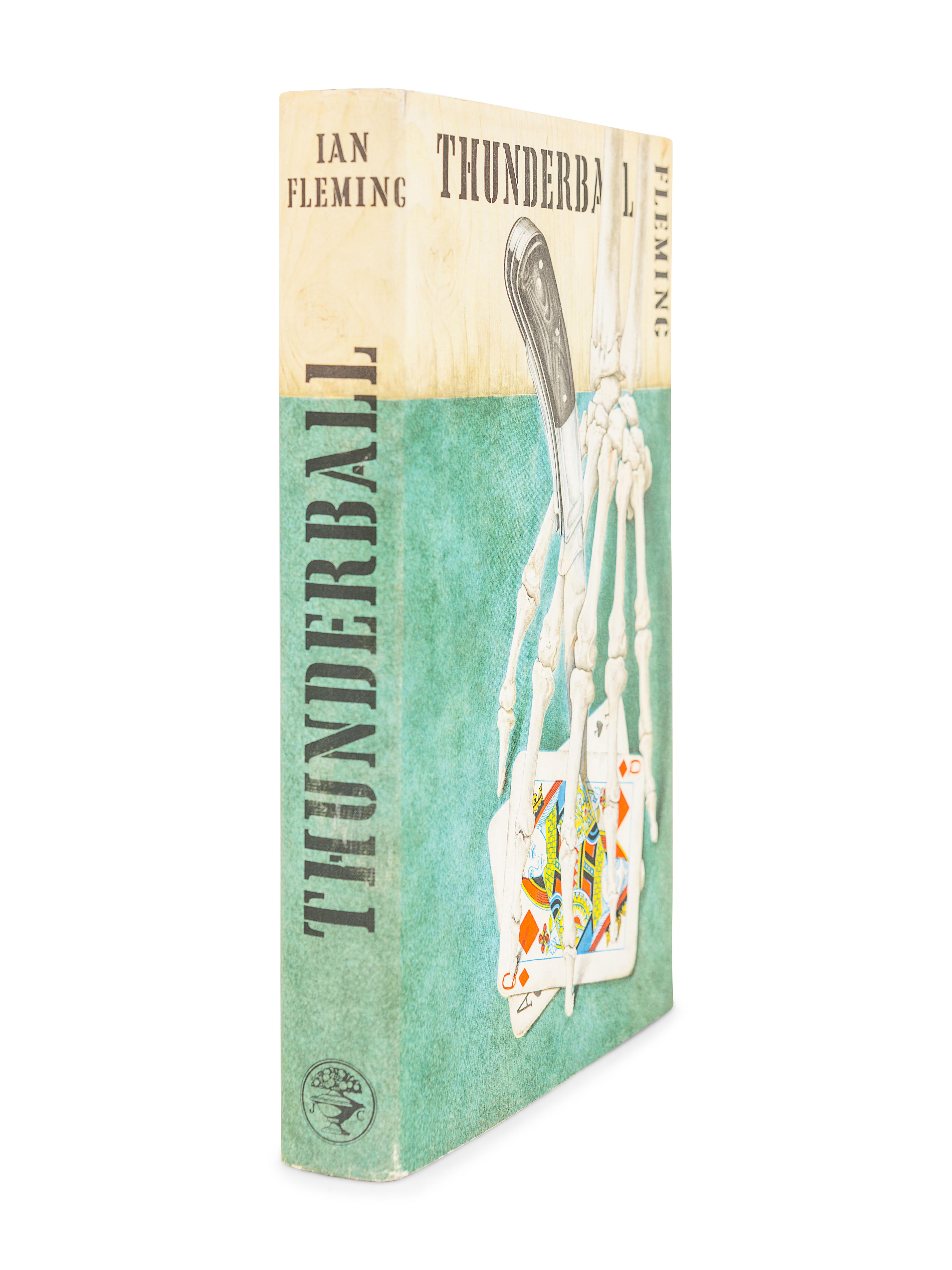 FLEMING, Ian (1908-1964). Thunderball. London: Jonathan Cape, 1961. - Image 3 of 3
