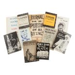 [THE BEATS]. A group of works by Allen Ginsberg, many SIGNED OR INSCRIBED, including: