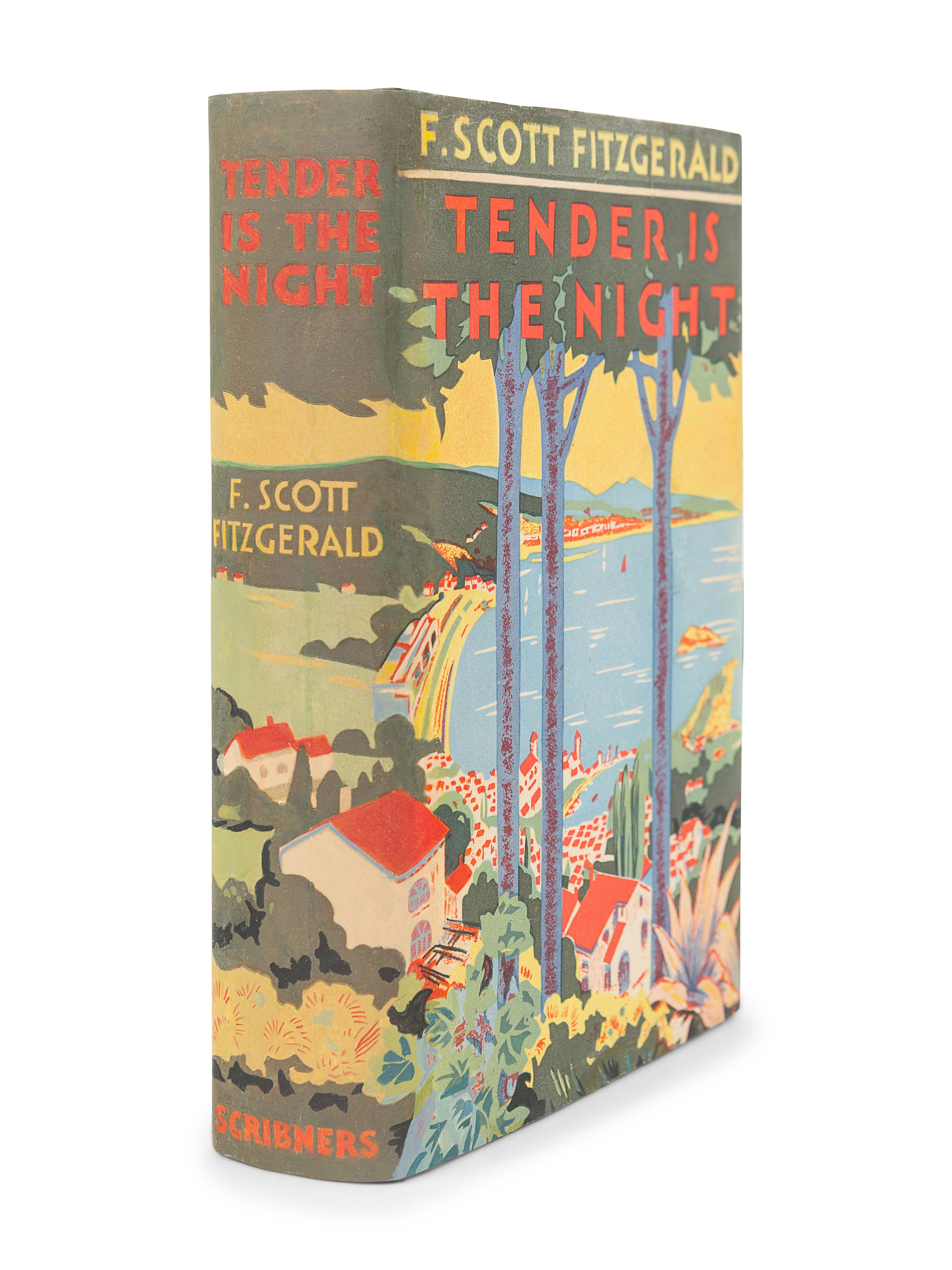 FITZGERALD, F. Scott (1896-1940). Tender is the Night. New York: Charles Scribner's Sons, 1934.