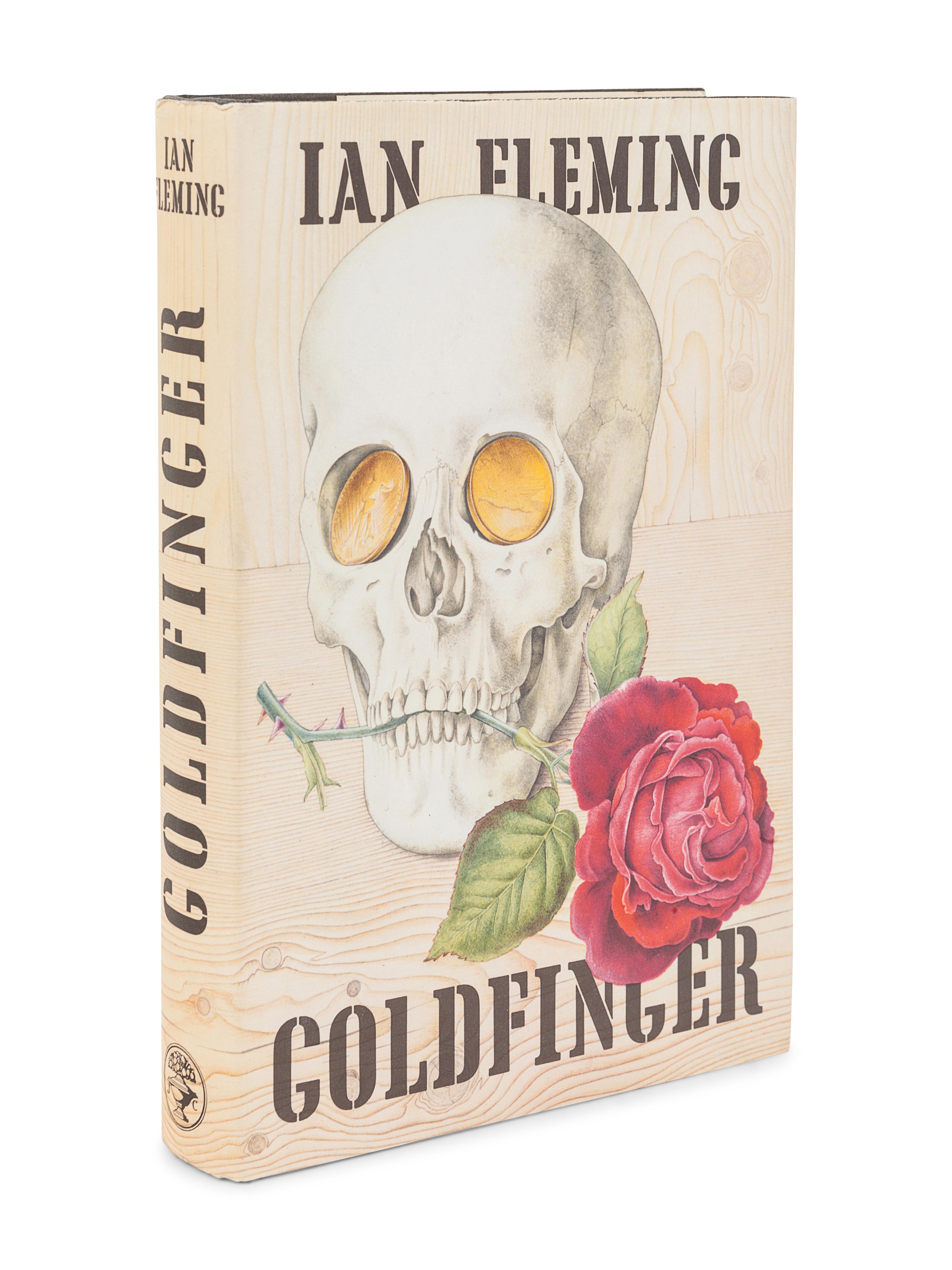 FLEMING, Ian (1908-1964). Goldfinger. London: Jonathan Cape, 1959.