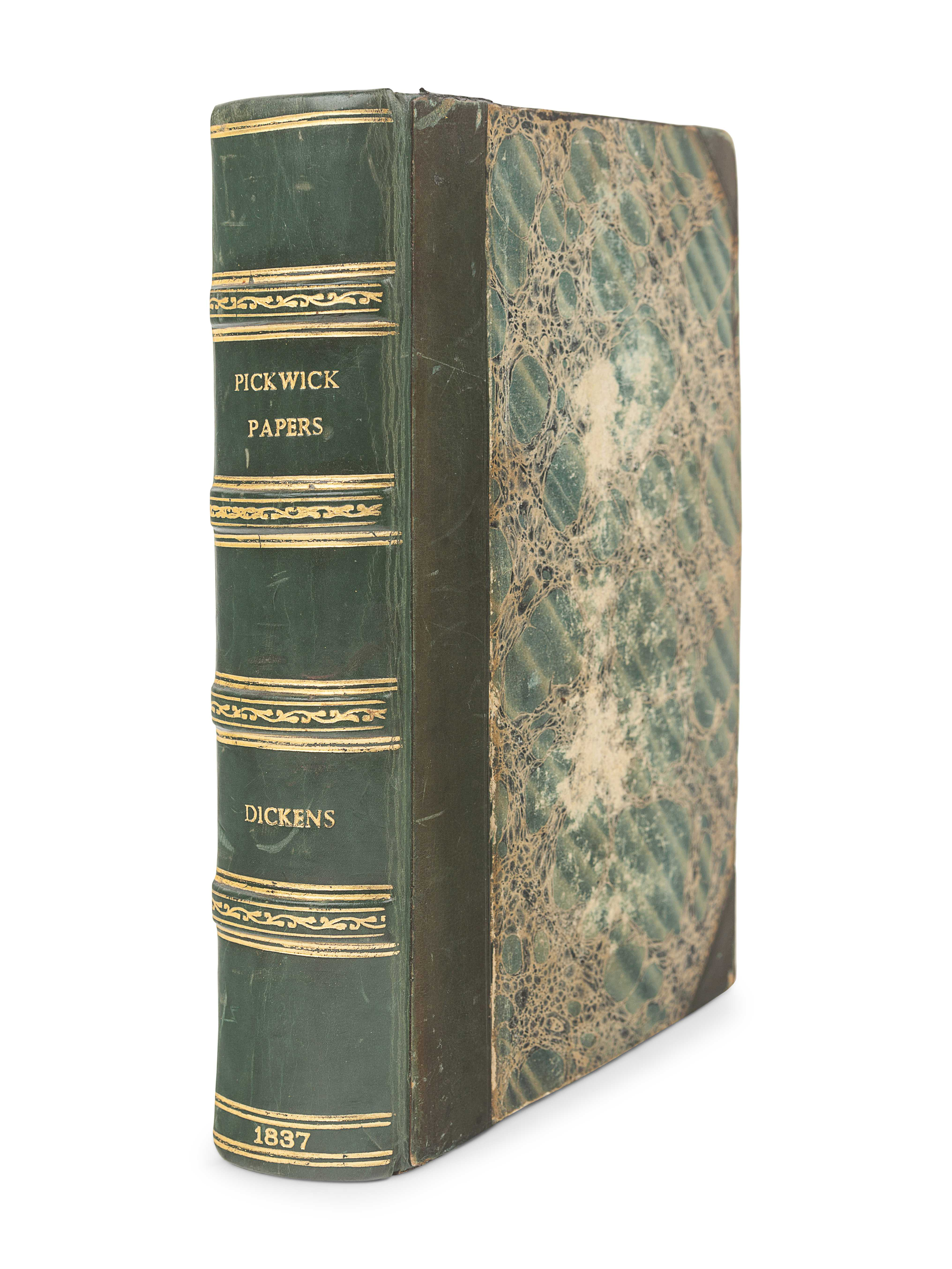 DICKENS, Charles (1812-1870). The Posthumous Papers of the Pickwick Club. London: Chapman & Hall, 18 - Image 2 of 2