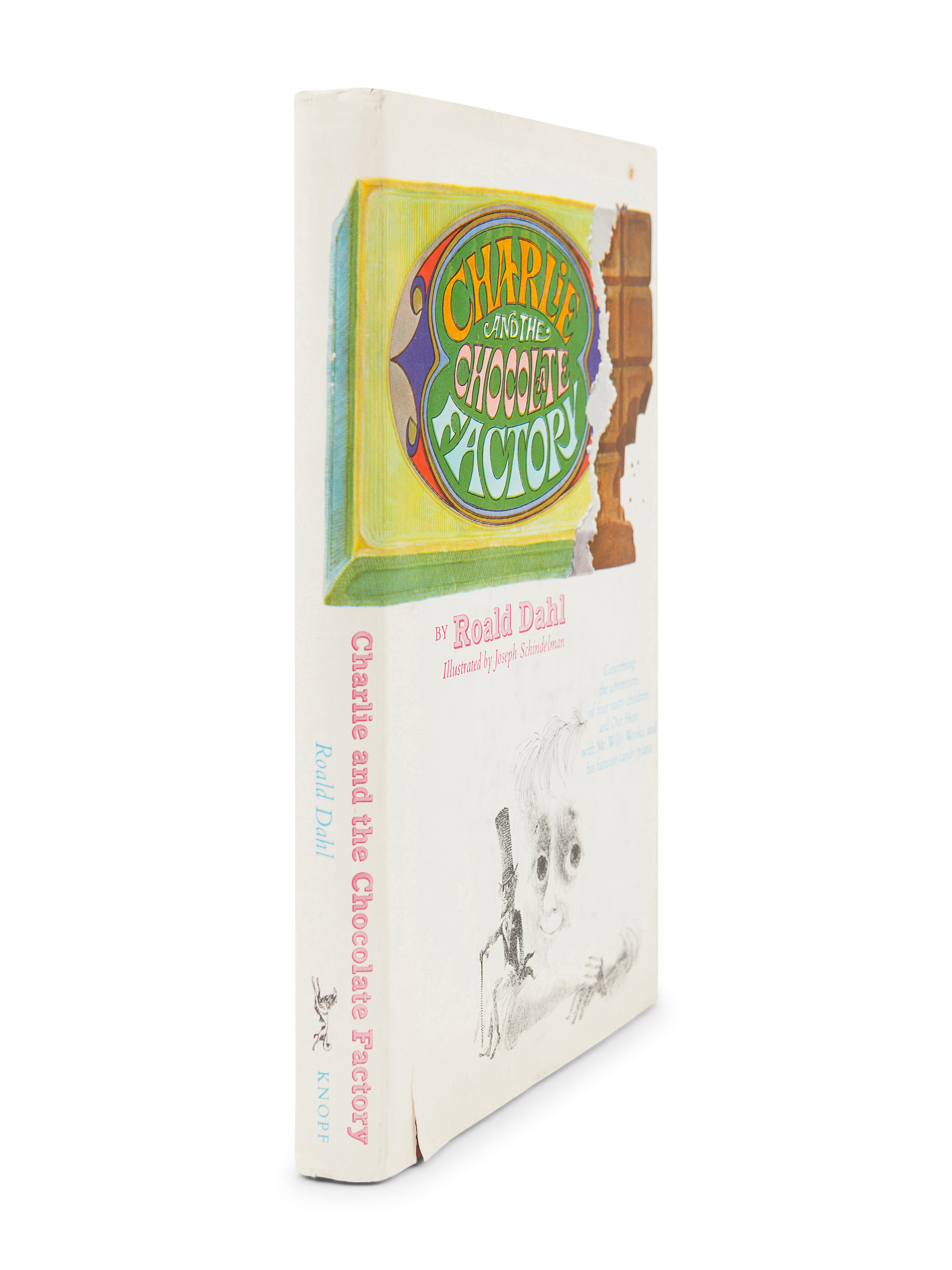 DAHL, Roald (1916-1990). Charlie and the Chocolate Factory. New York: Alfred A. Knopf, 1964. - Image 3 of 3