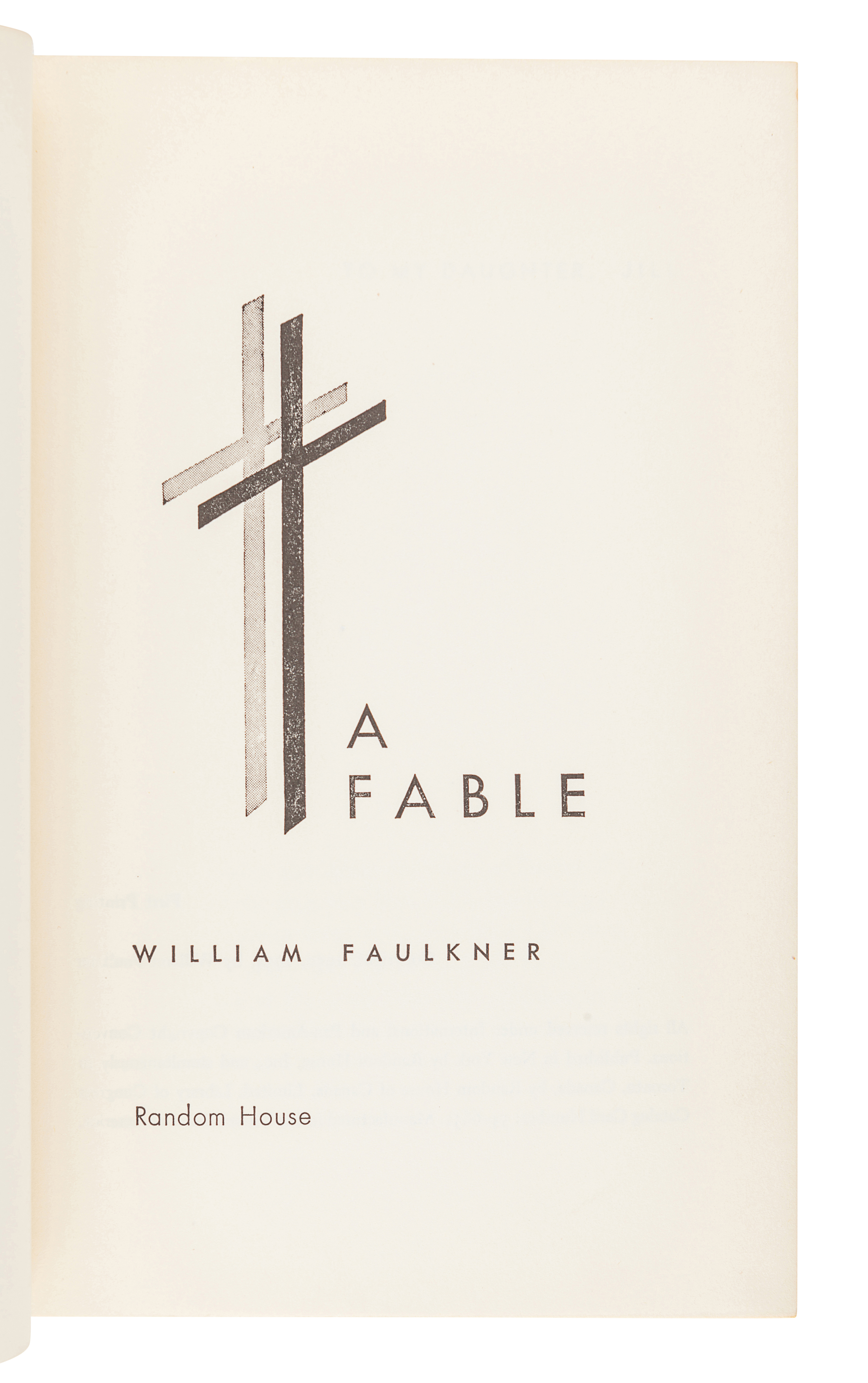 FAULKNER, William (1897-1962). A group of FIRST EDITIONS, comprising: - Image 4 of 4
