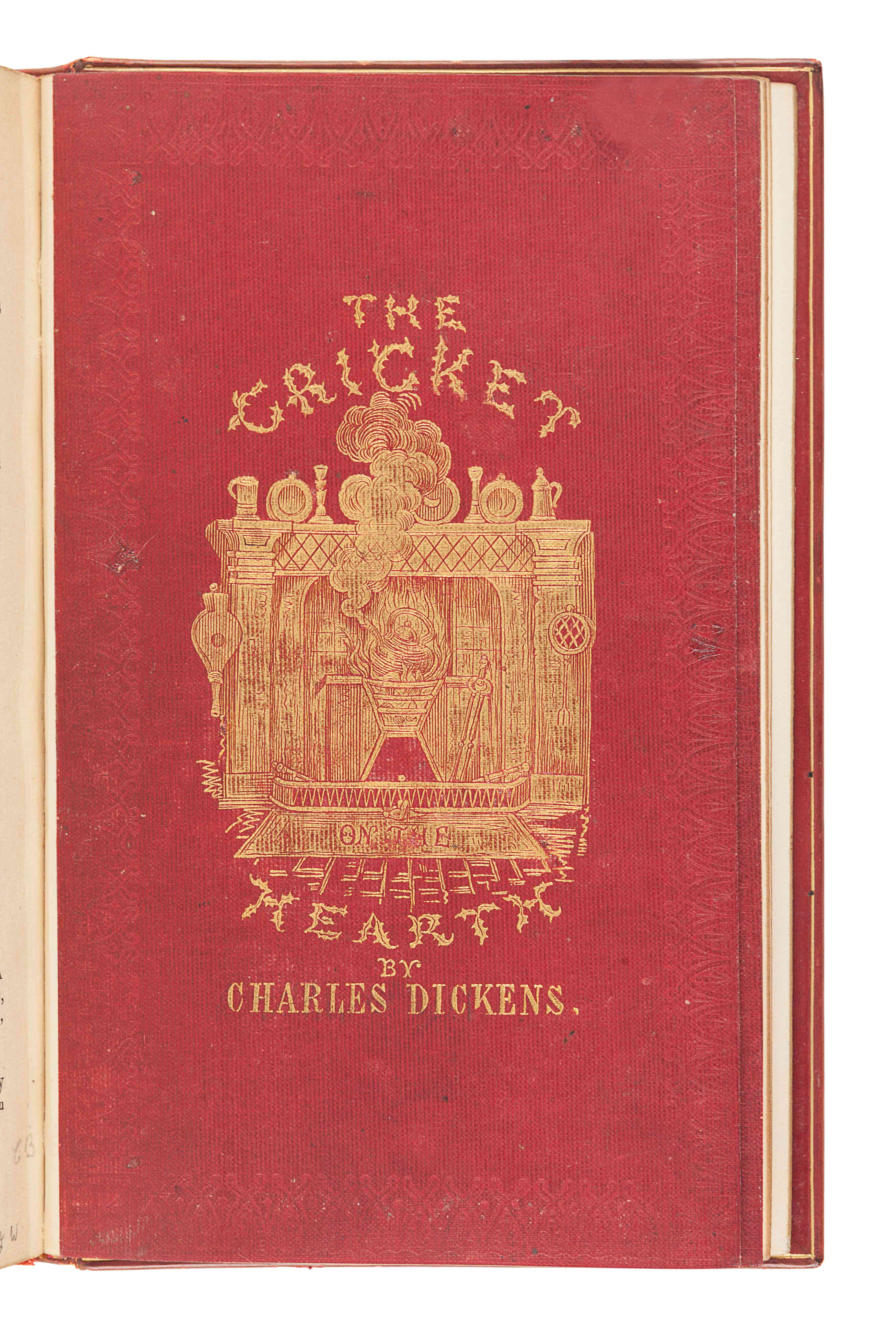 DICKENS, Charles (1812-1870). The Cricket on the Hearth. A Fairy Tale of Home. London: Bradbury & Ev - Image 2 of 3