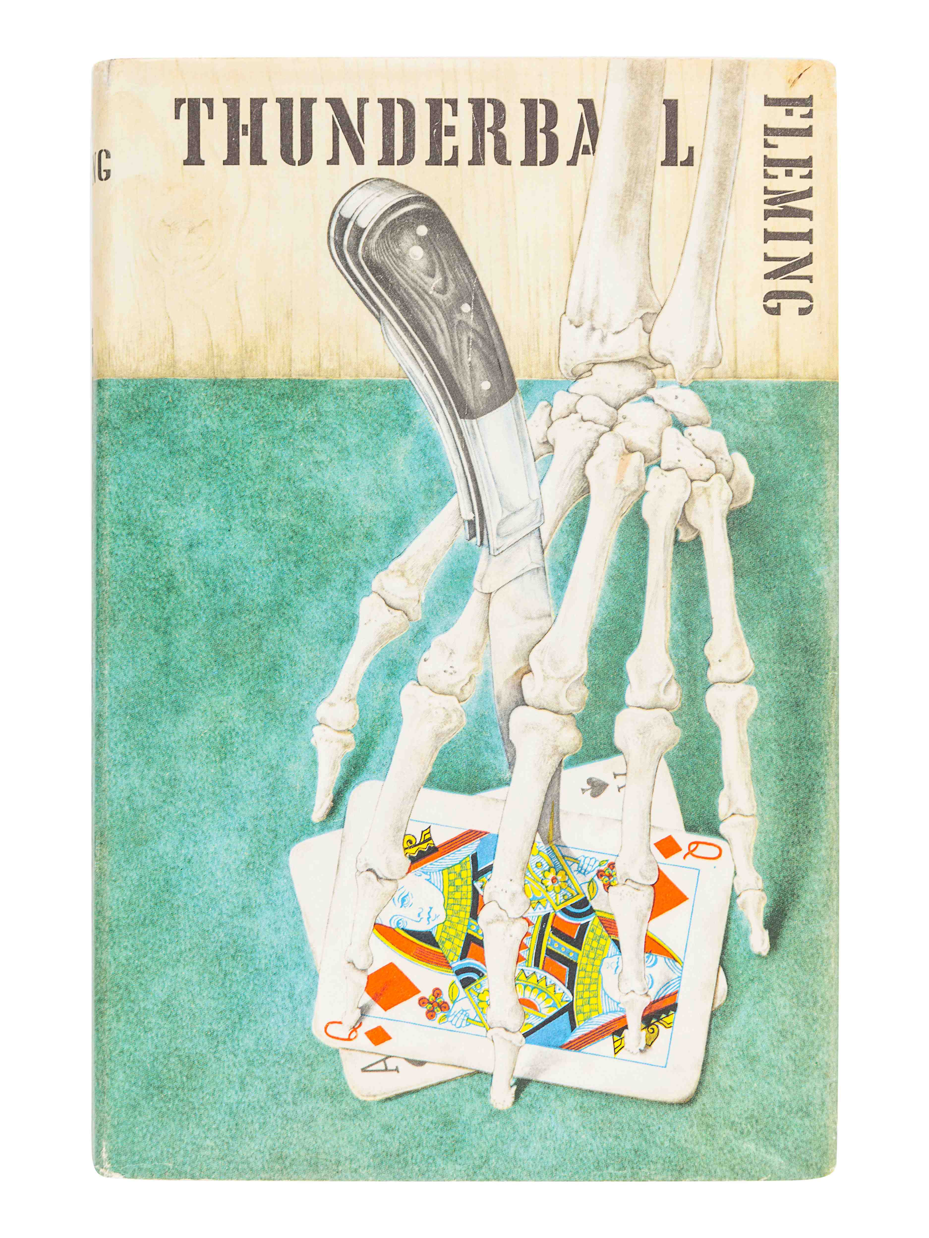 FLEMING, Ian (1908-1964). Thunderball. London: Jonathan Cape, 1961.